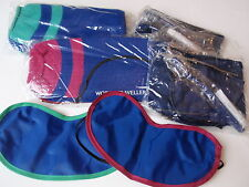 British Airways Airlines World Traveler Amenity Kits Masks Slippers New Old IOP