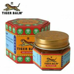 6 X Tiger Balm Red Ointment - 9 ML -FREE SHIPPING