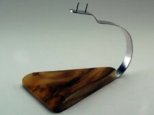 Airplane Model Mahogany Wood Kiln Dried Wooden Metal Arm Desktop Display Stand