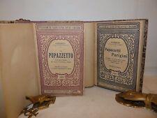 GANDOLIN 2 opere illustrate IL PUPAZZETTO + PUPAZZETTI PARIGINI 1919 Bideri