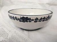 "Vintage Hand Painted Portugal Ceramic Pottery Bowl Signed S. Dias 5.5"" Diameter"