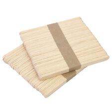 50 Stück Holz Bastelhölzer Holzspatel Eisstiel Holzstiele Modellbau Holz