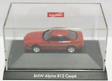 Herpa® BMW Alpina B 12 Coupe OVP 1:87 HO