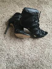 Zara High Heel Leather Sandals...Size 7.5 (38)...BNIB!!!