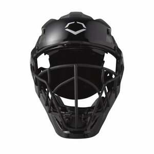 "EvoShield Pro-SRZ Catcher's Helmet WB57084 BLK|RED| Small (6 1/2"" - 7"")"