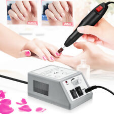 Nail File Drill Electric Manicure Machine Art Acrylic Pedicure Tool Set Kit Bits