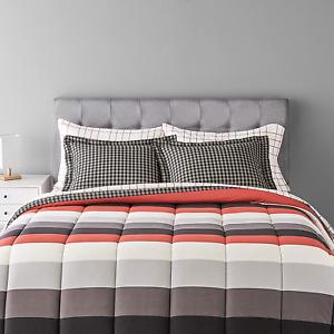 High Quality 5-Piece Lightweight Microfiber Bed-In-A-Bag Comforter Bedding Set