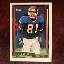 1992 Topps GOLD Set ED MCCAFFREY high #699 NEW YORK GIANTS ** MINT **