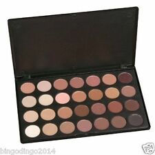 Professional 28 Color Eye Shadow Palette Makeup Set, Neutral Warm Shades Range