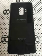 Black Back Glass Housing Cover Battery Door For Samsung Galaxy S9 G960