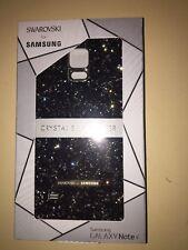 Authentic Swarovski Crystal Back Cover Samsung Galaxy Note 4 , Smokey