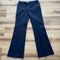 Banana Republic Jackson Fit Dress Pants Size 6 Womens Black Bootcut Stretch