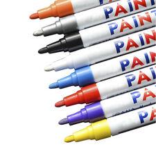 1/2/5x Waterproof Permanent Paint Marker Pen Car Tyre Tire Tread Rubber Colorful