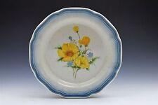 "Mikasa Country Club CA 503 Yellow Flowers Salad Plate 8"""