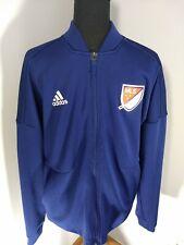 Adidas All Star Game MLS Men's  Navy Blue Full-Zip Anthem Track Jacket Size M