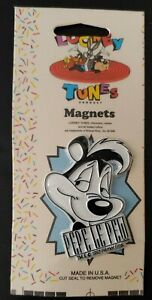 1993 Looney Tunes Magnet, PEPE Le PEW (New in Package) Warner Brothers 1990's