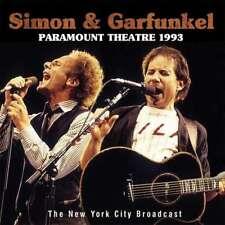 Simon & Garfunkel - Paramount Theatre 1993 NEW CD