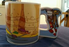 LOONEY TUNES ROAD RUNNER WILE E. COYOTE MUG