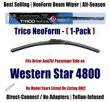 1-Pack Super-Premium NeoForm Wipers fits 2016+ Western Star 4800 - 16200