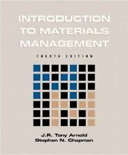 Introduction to Materials Management (4th Edition) by Chapman, Stephen N., Arnol