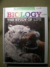 Prentice Hall BIOLOGY The Study of Life Annotated Teacher Edition (1991, HC)