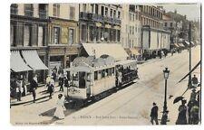 NANCY (54) rue Saint jean tramway électrique beau plan animation