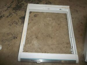 AMANA REFRIGERATOR DRAWER FRAME 10485902  FROM MODEL  BX22A2W