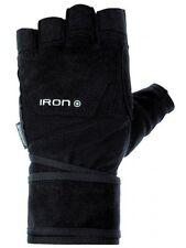 CHIBA Iron II Wrist Support FitnessHandschuh Handgelenkstütze Kraftsport Schwarz
