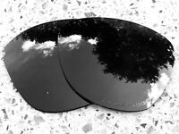 ETCHED POLARISED ONYX BLACK REPLACEMENT OAKLEY FROGSKINS LENSES