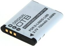 OTB Battery for Pentax D-Li88/Panasonic VW-VBX070 / Sanyo DB-L80 / Toshiba