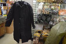 coat all weather mans black removablee liner size 30r