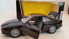 BMW 850i, Schwenkscheinwerfer, schwarz metallic, M 1:24 Schabak 1630