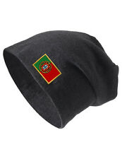 PORTUGAL Embroidered Embroidery Slouch Slouchy Fashion Beanie Skull Hat Cap
