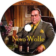 Nero Wolfe Old Time Radio Show OTR 30 Episodes on 1 MP3 CD Free Shipping