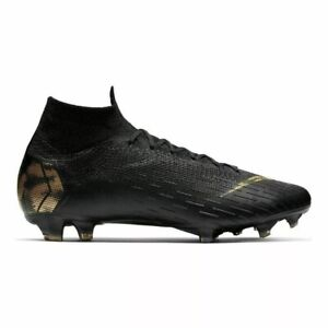 Nike Superfly 6 Elite (Women's Size 6) Athletic Soccer Cleats Black Futbol Shoes
