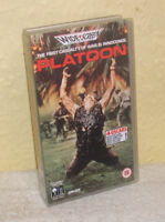 Platoon - Widescreen VHS - Tom Berenger, Charlie Sheen, Willem Dafoe