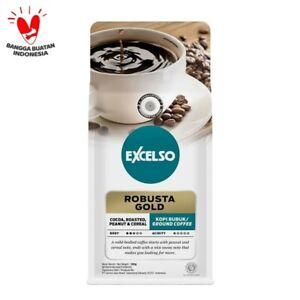 Kapal Api Excelso Robusta Gold Coffee 100 Gram , Coffee Powder, Brew Coffee