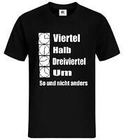 Ossi Zeiten T-Shirt DDR FDJ Ostdeutsch Uhr Clock Mauer Zone Grenze Berlin Spruch