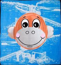 JEFF KOONS 'Monkey Train (Blue)' Hulk Elvis Art Production Fund Beach Towel NIB!