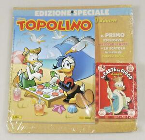 PRL) WALT DISNEY TOPOLINO 3377 EDIZIONE SPECIALE CARTE GIOCO PLAYING CARDS CARTE