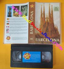 VHS film BARCELONA Barcellona PRODUCIONES CALIFORNIA spagna (F64) no dvd