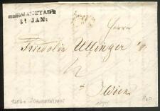 ÖSTERREICH 1844 VORPHILABRIEF von SCHWANENSTADT nach WIEN(D1079
