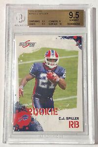 2010 Score C.J. Spiller Beckett Gem Mint 9.5