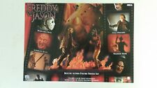 Freddy Vs. Jason Deluxe Action Figure Set Full Page Ad magazine clipping 2004