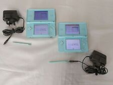 Nintendo DS Lite - Turquoise - Light Blue - Games Console - Good Condition