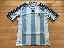 Adidas ClimaCool Argentina AFA Soccer Futbol Jersey Blue Men's Sz Large L