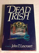 Dead Irish No. 1 by John Lescroart (1990, Hardcover, 1st, 1st, Very Good)