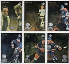1998/99 McDONALDS COMPLETE 13 CARD INSERT SET GRETZKY TEAMMATES