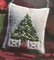 Of Female Worth The Village Green Cross Stitch Pattern Christmas Holiday OOP New