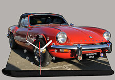 MODEL CARS, TRIUMPH MK3-01, car passenger,11,8x 7,8 inches  with Clock